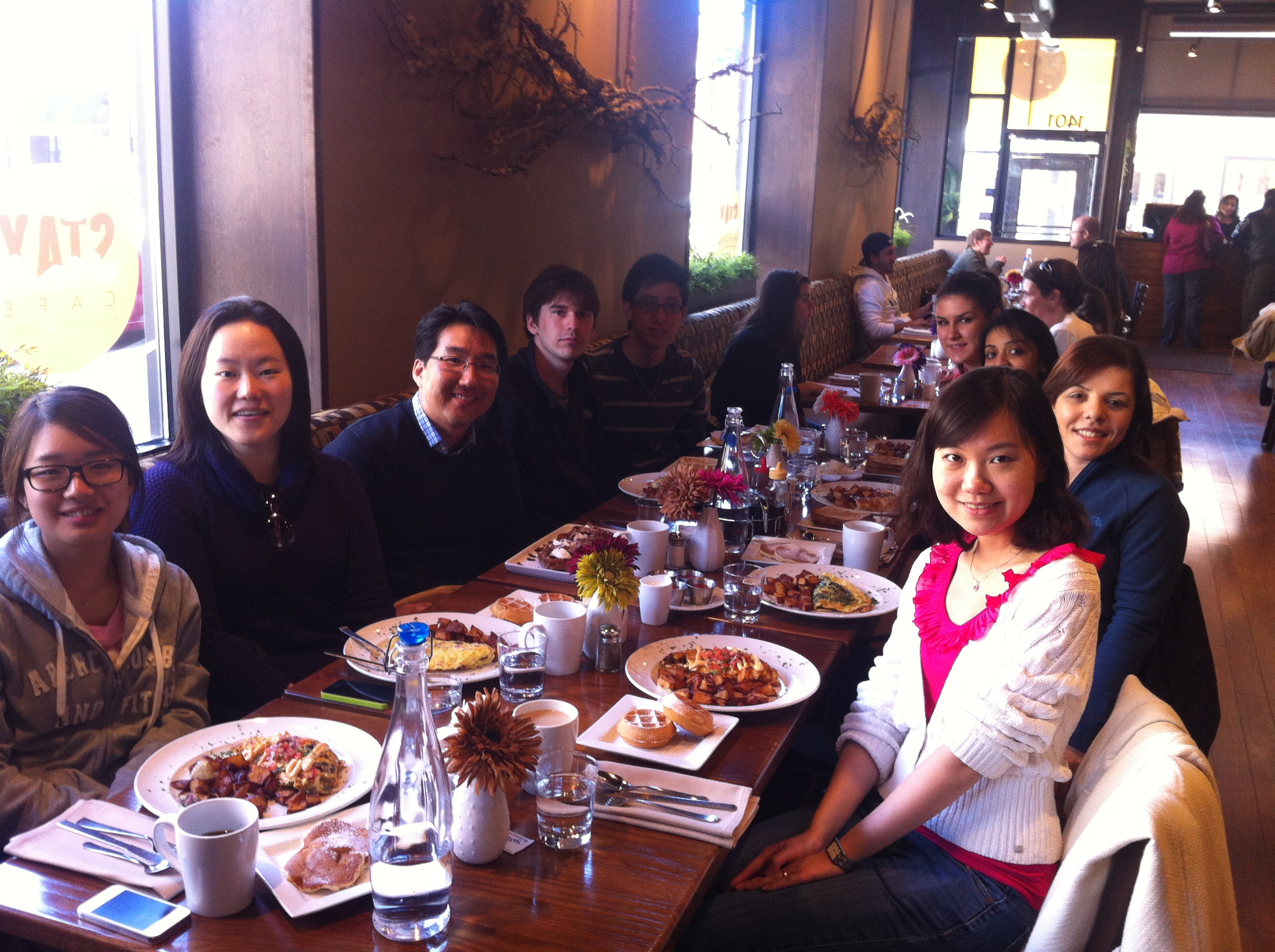 Hong Lab Brunch